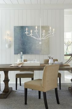 Annie 6   Light Chandelier By Feiss: Simple And Chic With A Warm ,welcoming