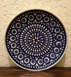 Hey, I found this really awesome Etsy listing at https://www.etsy.com/listing/211593741/polish-pottery-dessertbread-plate