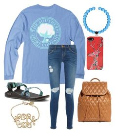 """""""these shirts are soo cute!!!"""" by legitmaddywill ❤ liked on Polyvore featuring Current/Elliott, Chaco, Everest and Vera Bradley"""