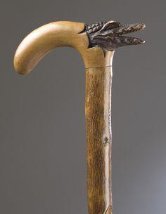 Walking stick handle