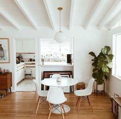 s c r a p b o o k dining room kitchen mid century modern style