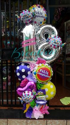 Birthday Ballon Decorations, Birthday Balloons, Balloon Decorations, Balloons And More, Big Balloons, Baby Shower Balloons, Balloon Display, Balloon Gift, Balloon Garland