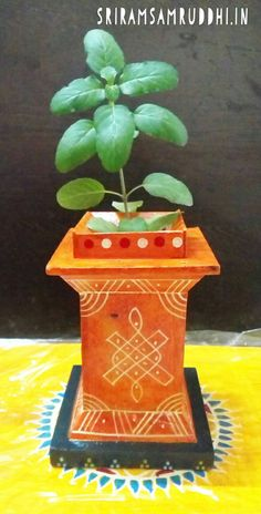 Kondapalli handi crafts - Pen stand made up of wood