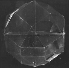 transparent geode