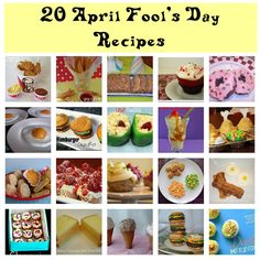 20 april fools recipes