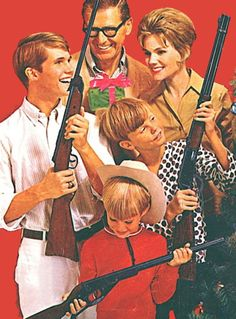Everybody Get's A Gun For Christmas!  These last 10 outdoorsy pics were by request… these were definitely not super-easy for me to find.