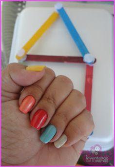 #Unhas coloridas da Chris Ferreiraa no Inventando com a mamãe