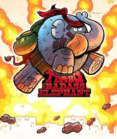 Our review for Tembo The Badass Elephant​ is live! How Bad Ass is he? Read our review below and find out!