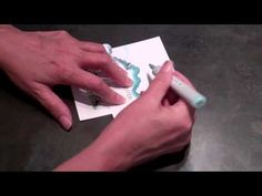 Making a cloud background with Copic markers tutorial