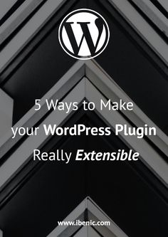 Learn 5 Ways you can take right now to make your own WordPress plugin really extensible. We go over each way with examples, some custom some from popular plugins. Learn Wordpress, Wordpress Plugins, Wordpress Theme, Legitimate Work From Home, About Me Blog, Creating A Blog, 5 Ways, How To Start A Blog, Make It Yourself