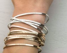Bridesmaid Gift Idea: Mini Layering Necklaces von LayeredAndLong