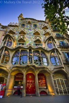 Barcelona Is Reknowned For Gaudi And It Would Be Strange To Visit Not Include An