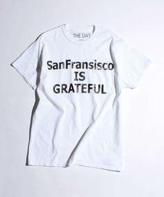 BEAUTY&YOUTH MENS(ビューティアンドユース メンズ)の<THE DAY> SF Grateful TEE/Tシャツ(Tシャツ/カットソー)|ホワイト
