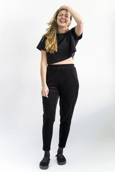 This product is part of the Weecos Treasures campaign! WEECOS TREASURES is a wonderful opportunity to find unique design products! Black Pants, Normcore, Unique, Style, Fashion, Photos Tumblr, Black Slacks, Swag, Moda