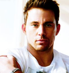 Channing Tatum....I dont have a sizzling hot man board, so I'm putting him on YUM... ;)