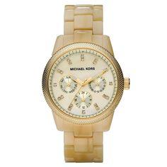 6a2e9b818a970 Michael Kors Women s Ritz Horn Watch Bracelet Watch, Ladies Bracelet, Mk  Watch, Michael
