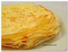 Panqueca – Receita básica sem glúten – Especial Dia Internacional dos Celíacos | Blog Aqui na Cozinha |