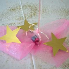 Center piece for a star is born baby shower