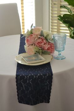 """Red Lace13""""* 72"""" Valentines Day Lace Table Runner Free Shipping"""