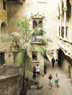 Picasso y su museo de Barcelona. En la calle mas bonita de Barcelona