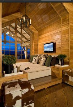 Loft bed space