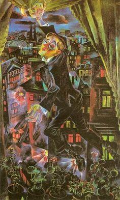 CONRAD FELIXMULLER Death of the Poet Walter Rheiner (1925)