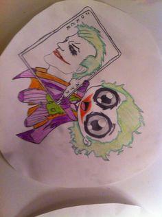 Cute version of the Joker
