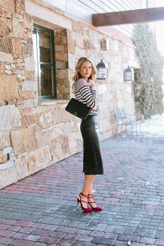 Stripes   Leather