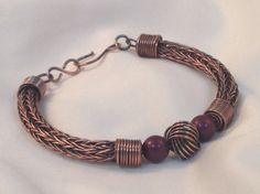 Antique Copper Danish Love Knot Viking Knit by CharlieMorgon, £24.00