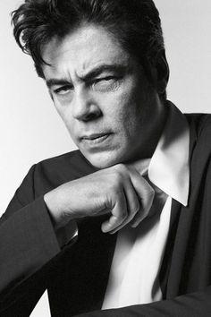 Benicio Del Toro for Prada by David Sims.