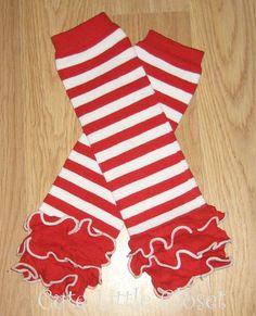 Christmas+leg+warmers+Candy+cane+leg+warmers+by+CUTELITTLECLOSET,+$10.00