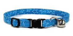Hey, I found this really awesome Etsy listing at https://www.etsy.com/listing/77762775/cat-collar-starry-blue-breakaway-safety
