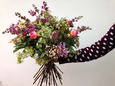 Huge bouquet with Lilac and Roses