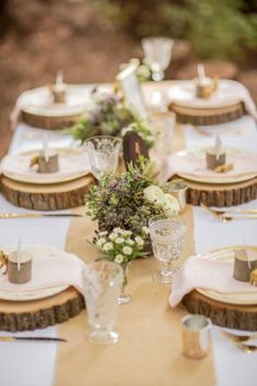 Eclectic Woodland Wedding Inspiration