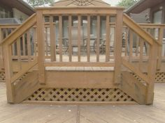 10 Things to Know Before Building a Deck: When it comes to decks, the choices are far more varied than plain wood. There are a wide variety of both synthetic and natural materials. The different woods available include redwood, mahogany and Ipe. From DIYnetwork.com