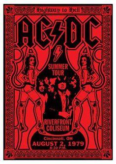 Resultado de imagen para carteles de concierto rock