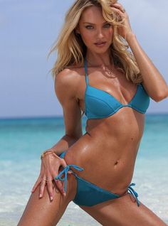 Candice Swanepoel For Victoria's Secret Summer Bikinis