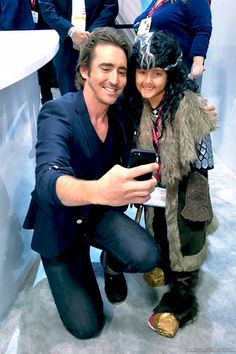 SDCC 2014-Lee with a little Thorin....probably missing big Thorin.....