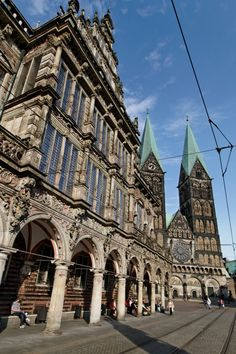 Town hall & Bremer Dom, Bremen, Germany