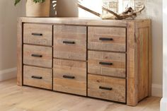 $1100 - Coolmore 8 Drawer Lowboy by Stoke Furniture | Harvey Norman New Zealand