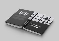 Book Mockup Template Free Download PSD