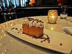 pumpkin cheesecake made for nyc restaurant week, jan. 16 - feb. 10, 2012.