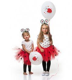 Roter Tüll-Rock mit schwarzen Punkte-Bommeln - verkleiden Sie Ihr Kind als Marienkäfer! Taillenumfang: ca. 50 cm. Fuchsia, Holidays Halloween, Ladybug, Kylie, Kindergarten, Lego, Halloween Costumes, Dress Up, Dots