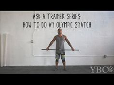 Ask a Trainer Series: How to do Olympic Snatch Lift — YOGABYCANDACE