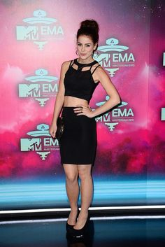 Lena Meyer-Landrut attends the MTV EMA's 2013 at the Ziggo Dome on November 10, 2013 in Amsterdam, Netherlands.
