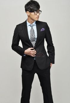 Asian man south suit
