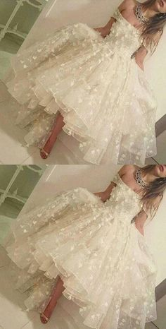 off the shoulder hi-low prom dresses, romantic prom dresses, dresses for women