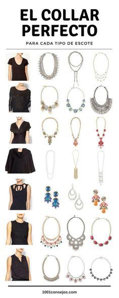 ¿No sabes qué #accesorios usar? No te pierdas este artículo.   Accesorios de moda #collares   Collares de moda elegantes cortos    #necklace