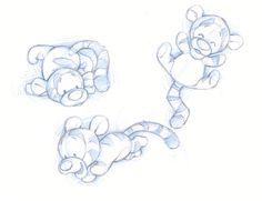 cute tigger - always my my favorite as a baby :)