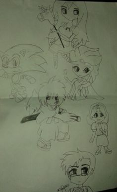 Chibi Characters by Victor Hugo